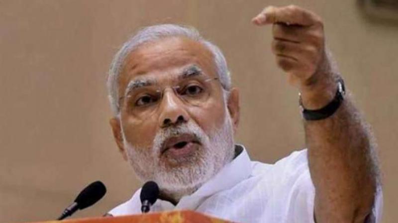 Prime Minister Narendra Modi will take over the portfolio of Civil Aviation from Minister Ashok Gajapathi Raju following his resignation on Thursday evening.(Photo: File)