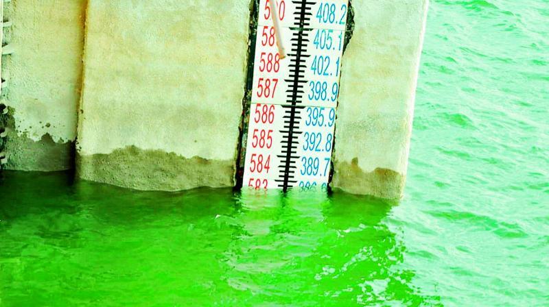 Nagarjunasagar continues to receive good inflows from Srisailam. On Friday, the water level at Nagarjunasagar dam stood at 583 feet against FRL of 590 feet.