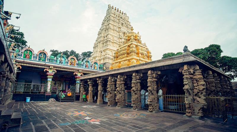 Security issues make Srisailam temple vulnerable