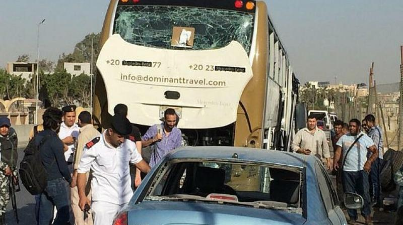 Egypt vehicle crash sets off deadly explosion outside Cairo hospital