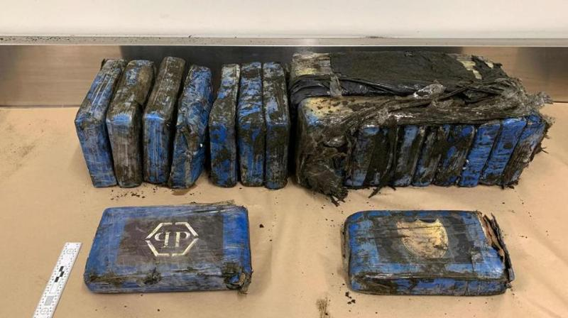 Cocaine worth millions of dollars has washed up on a New Zealand beach with police urging the public on Thursday to hand in any more packages that may turn up. (Photo: AFP)