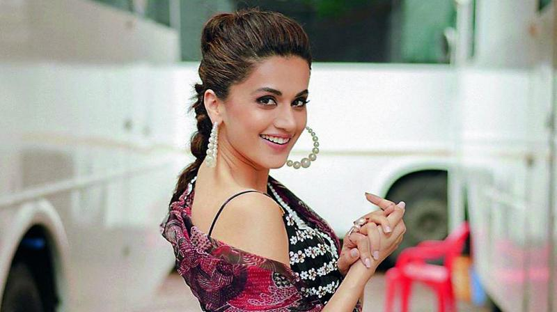 """""""I got a very secure feeling after Pink. I started feeling sure that filmmakers are keen on casting me in their films"""" —Taapsee"""