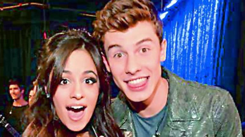 Shawn Mendes and Camilla Cabello