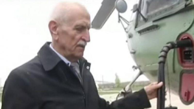 More than three decades after he flew his helicopter above the radioactive volcano that was Chernobyl's nuclear reactor number four, the site of the world's worst nuclear accident, Mykola Volkozub recalls how he feared for his life. (video screengrab/ YouTube)