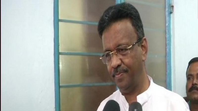 State Urban Development Minister Firhad Hakim on Saturday welcomed 10 councillors of the Naihati Municipality back into the TMC fold and alleged that they could have joined the BJP under duress. (Photo: ANI)