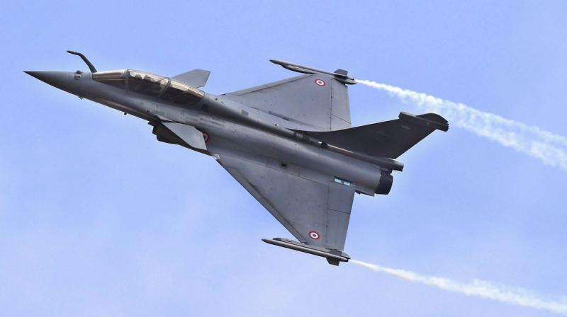 Prime Minister Narendra Modi had announced the revised deal to buy 36 Rafale jets after talks with President Hollande on April 10, 2015 in Paris. (Photo: PTI | Representational)