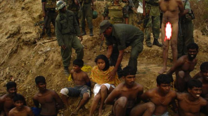 Dozens of surrendering Tamils, including senior Tiger political leaders and their families, had been shot dead by soldiers. (Photo:AP)