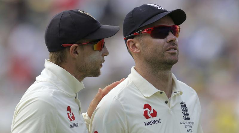 """""""He's something that doesn't come along very often and we've got to enjoy him while he's around,"""" said England skipper Joe Root as he heaped praise on England's premier pacer James Anderson after beating India at Lord's in the second Test. (Photo: AP)"""