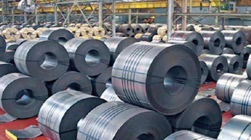 During 2018-19, finished steel imports rose 4.7 per cent to 7.84 million tonnes.