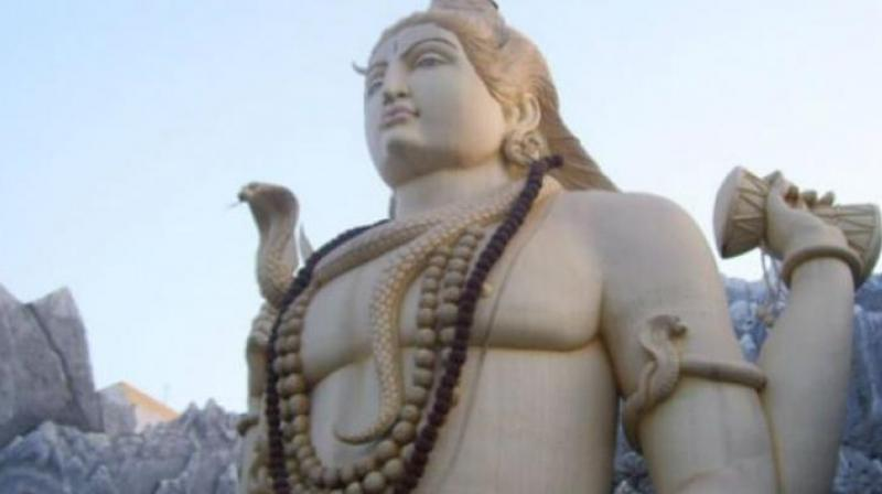 Lord Shiva, who held the poison in his throat, indicates that we should also not spit these negativities on others nor allow them to go down deep within us.  (Photo: PTI)