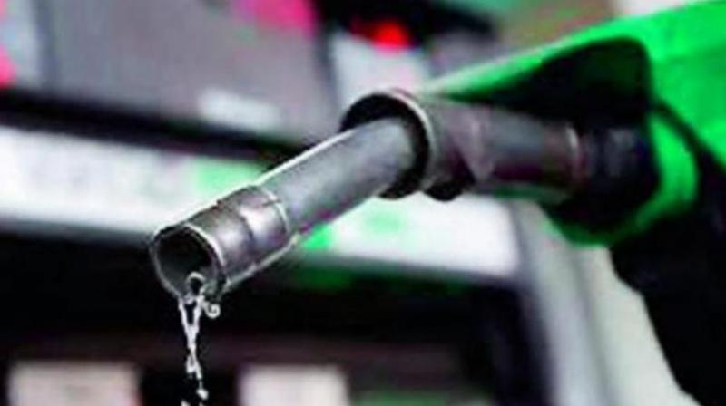 Crude oil imports into India consumer declined 1.2 per cent from a year earlier to 19.34 million tonnes, but increased 14.6 per cent from the previous month. (Photo: File | Representional)