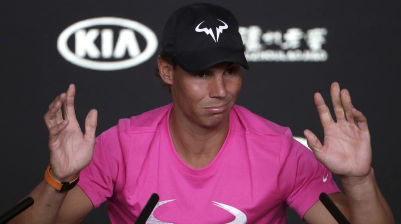 Rafael Nadal declared himself ready to throw himself into a 14th campaign in Melbourne, starting with a first round match against Australian wildcard James Duckworth. (Photo: AP)