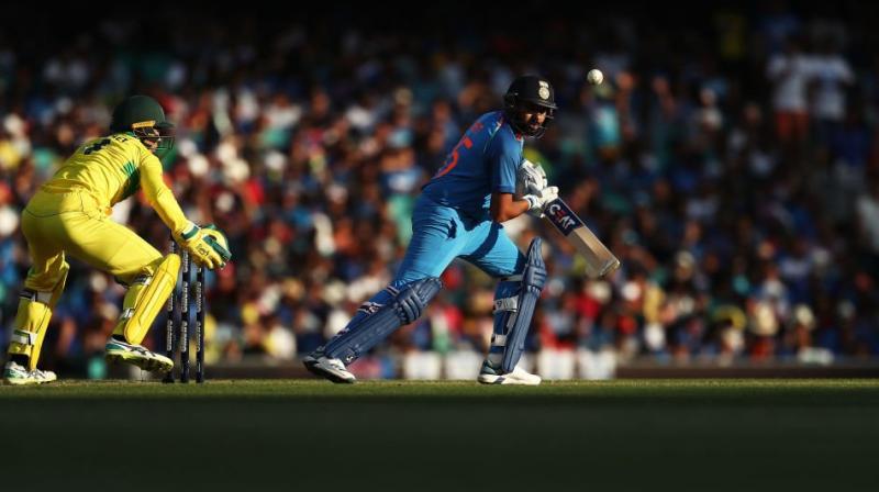 Rohit Sharma scored his 22nd ODI hundred on Saturday. (Photo: Twitter/ BCCI)