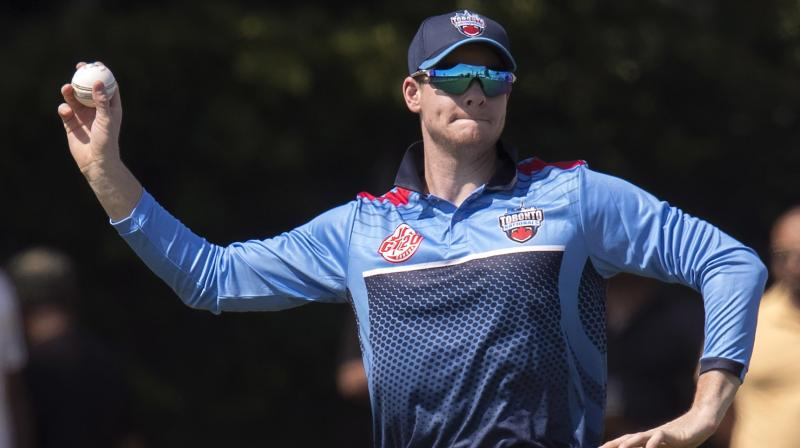 Former Australia captain Steve Smith will serve out the remainder of his 12-month ban from international and state cricket recuperating from surgery on his injured elbow, Cricket Australia (CA) said on Saturday. (Photo: AP)
