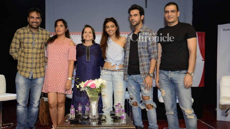 Numerous Bollywood stars were spotted at day two of the Khidkiyaan theatre festival in Mumbai on Thursday. (Photo: Viral Bhayani)