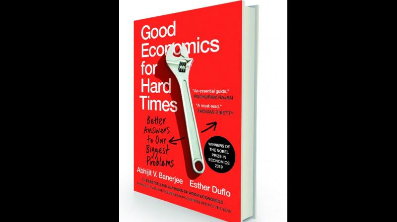 Good Economics for Hard Times : Better Answers to Our Biggest Problems by Abhijit Banerjee and Esther Duflo Juggernaut, `699