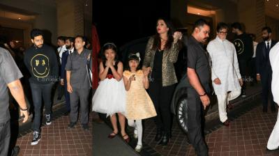 Aaradhya Bachchan celebrated her 7th birthday and it was a very private, close-knit party which only involved her family i.e. the Bachchans.