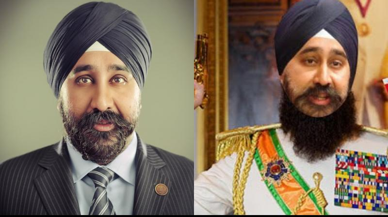 This is not the first time that Bhalla, the first Sikh mayor of Hoboken, has experienced racist attacks over his religion and turban.  (Photo: Twitter)
