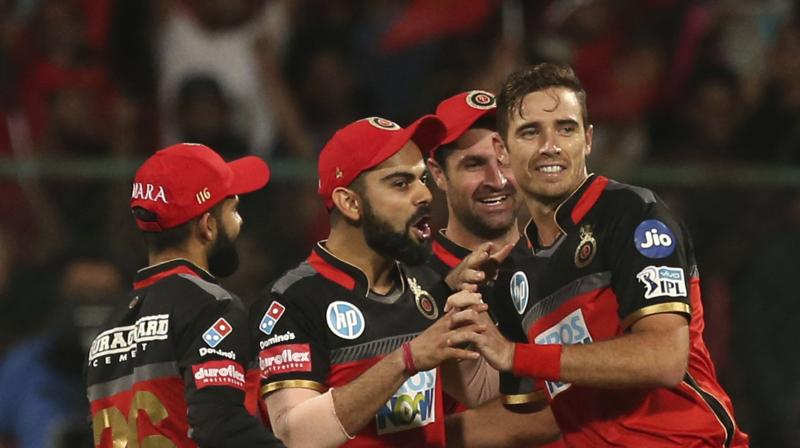 Image result for umesh and southee rcb ipl