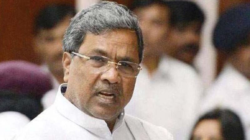Karnataka Chief Minister Siddaramaiah, who is also Chairman of Kempegowda Development Authority.