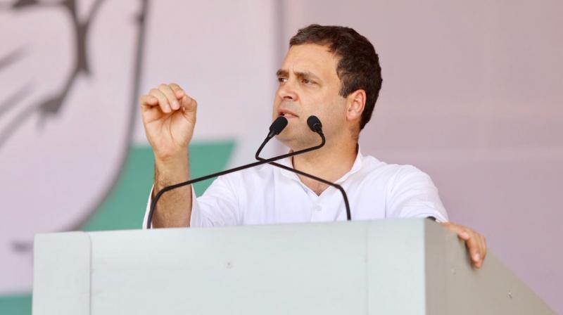 Rahul Gandhi attacked Centre on Rafale deal, accused Modi Govt
