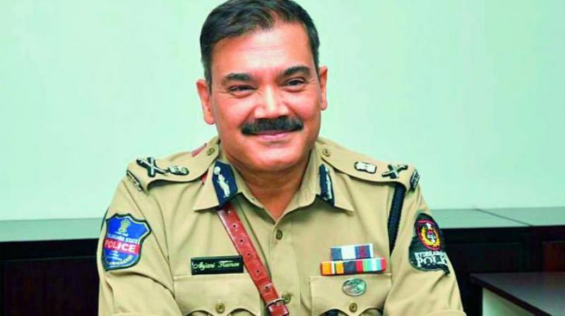 Hyderabad police commissioner Anjani Kumar