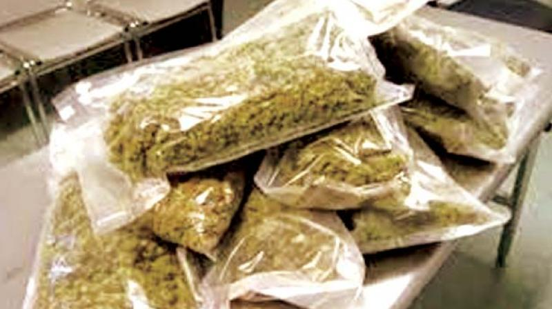 The accused had travelled several times to Qatar and officials suspect that he may have trafficked drugs in the past.