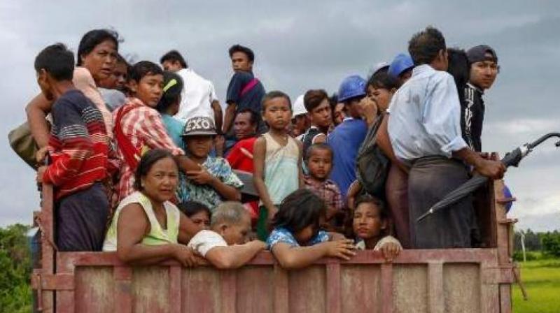 According to police, Rohingya refugees often sneak through Tripura to enter Indian soil. (Photo: AFP   Representational)