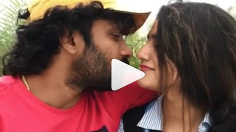 Watch: Priya Prakash Varrier's 'kissing' video trends on internet, but there's twist
