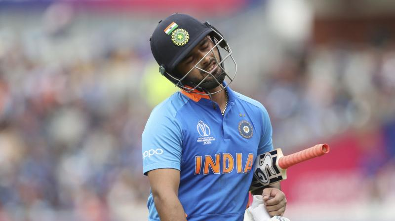 The 21-year-old is the only Indian wicket-keeper batsman who has scored a Test century in Australia and England. (Photo: AP)
