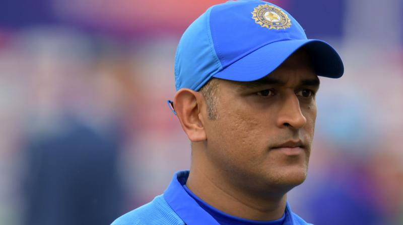 India needed 25 runs off 10 deliveries when Dhoni got run out. (Photo: AP)