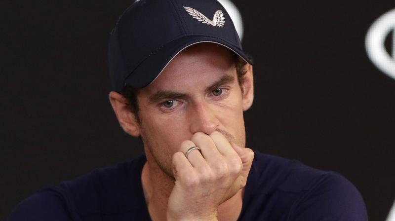 Murray on Friday admitted that his chronic hip injury had not been eased by surgery a year ago. (Photo: AP)