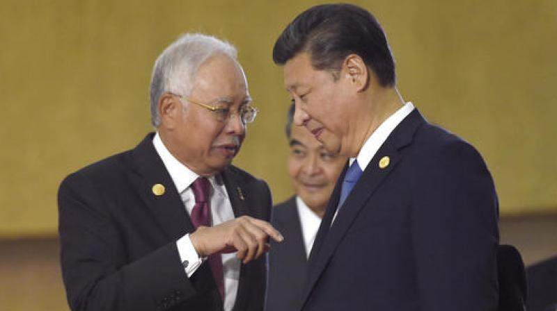 Image result for najib has China's backing