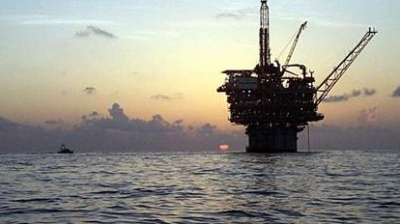 International Brent crude oil futures LCOc1 were at $55.57 a barrel, up 22 cents. (Photo: AFP)
