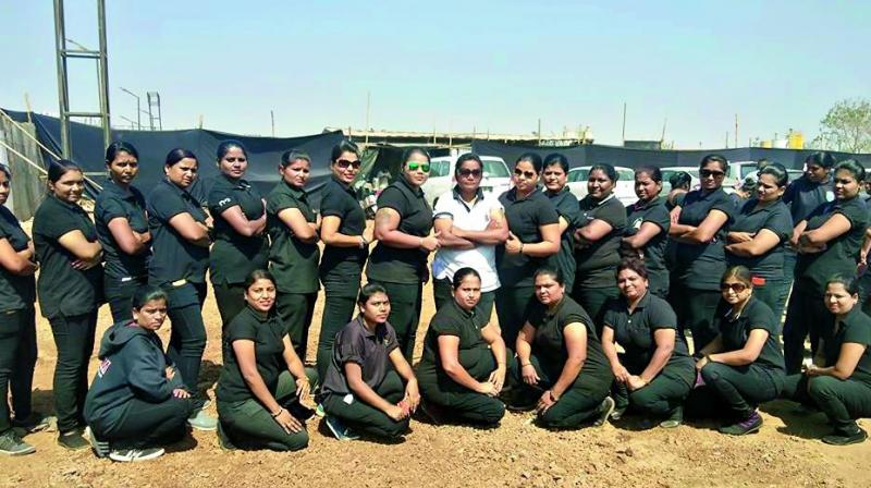 And this is just one of the many events Deepa and her 500 plus strong, women-only bouncer crew have provided security services at.