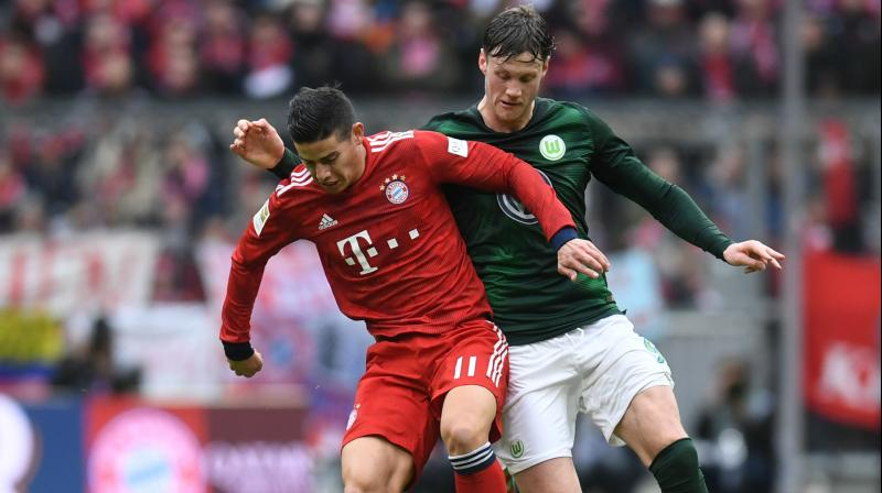 The striker's immediate task will be to help Bayern overcome Liverpool at home in the second leg of their Champions League last-16 tie later on Wednesday. (Photo: AFP)