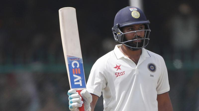 Rohit, 32, has cemented his place at the top of the batting order in the Twenty20 and 50-over formats and finished with the most number of runs in the World Cup in England recently. (Photo: AP)
