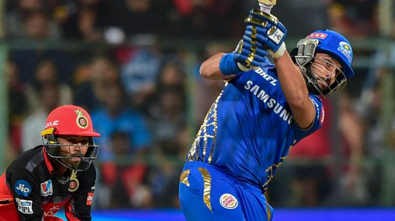 Despite the win against KXIP, RCB remain at the bottom of the points table and remain to win all their remaining league games to have any hopes of progressing in the tournament. (Photo: PTI)