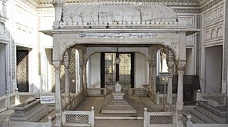 Encroachment on the six-acre Shams—ul—Umrah Paigah tombs at Santoshnagar, Hyderabad will be removed with the Centre sanctioning Rs 4 crore to restore the heritage site. (Image courtesy: Wikipedia)