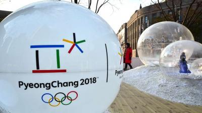 The Winter Olympics will run from February 9 to February 25. (Photo: AFP)