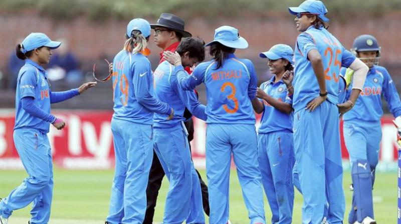 Series in the bag, the Indian women's cricket team will be eager to pile further misery on South Africa in the third and final fixture of the rubber, which is part of the ICC Women's ODI Championship. (Photo: PTI)