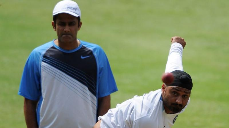 Harbhajan Singh has recently written to Anil Kumble about the financial insecurities of domestic cricketers. (Photo: AFP)