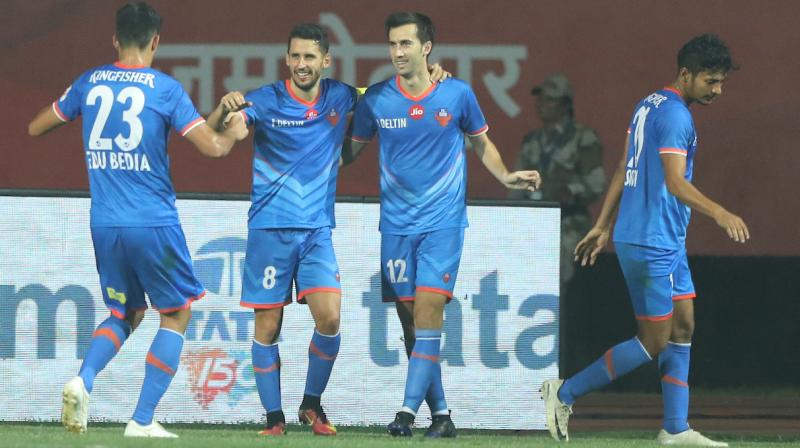 Jamshedpur fought valiantly but are now out of the reckoning and will look forward to the Super Cup after finishing fifth in the league. (Photo: ISL Media)