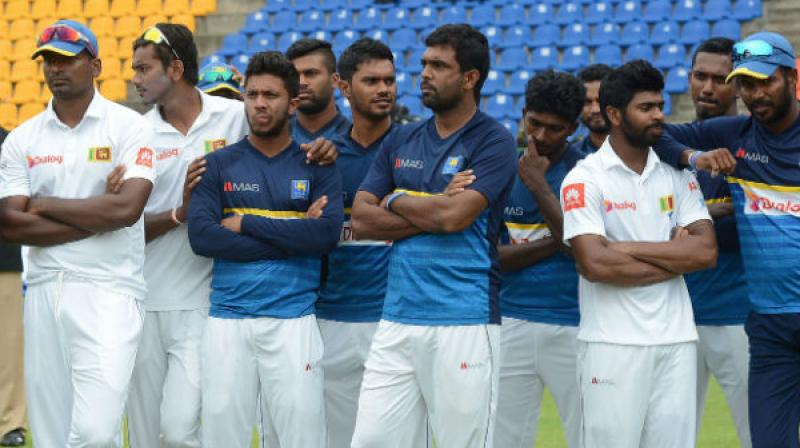 Sri Lanka had to face a humiliating 0-3 whitewash against India in the three-Test series and thus have been drawing flak both from former cricketers and fans.(Photo: AFP)