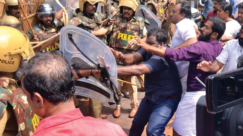 Ten workers of the ruling YSR Congress and Telugu Desam Party were injured in a post-poll clash at a village in East Godavari district of Andhra Pradesh on Sunday. (Photo: File/ Representational Image)