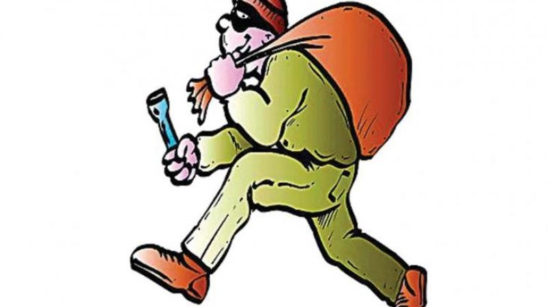 The nabbed thief was handed over to policemen on duty at the DGMCH outpost. He gave his name as Madesh, 25, a habitual offender and native of Jogir Kottai village, near Jittandahalli in Dharmapuri.