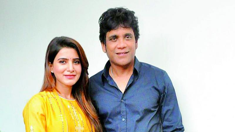 Samantha and Nagarjuna