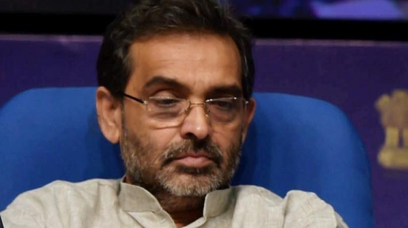 There has been unease within Upendra Kushwaha camp after BJP president Amit Shah in October announced that his party would contest on an equal number of seats with JD(U) in Bihar. (Photo: File | PTI)