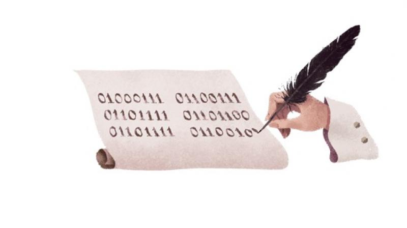 Google Doodle celebrates German philosopher Gottfried Wilhelm Leibniz. (Photo: Google Doodle)