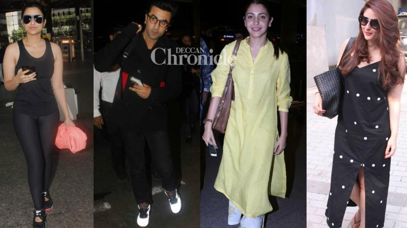 Paparazzi had a field day on Tuesday as they spotted Bollywood stars at various locations in Mumbai. (Photo: Viral Bhayani)